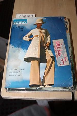 1971 Montgomery Ward Spring/Summer Catalog 1971: Montgomery Ward