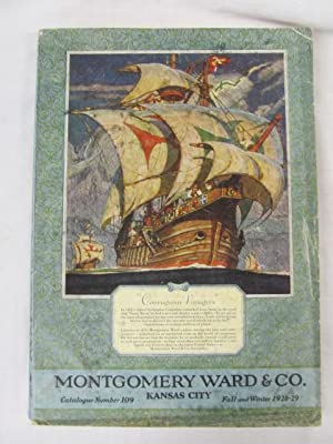 1928 Montgomery Ward Fall/Winter Catalog 1928-1929 GOOD: Montgomery Ward