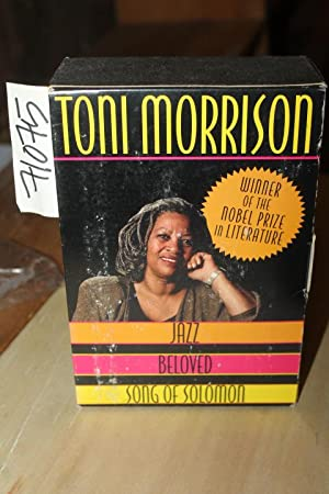 Jazz, Beloved and Song of Solomon 3 books in slipcase: Morrison, Toni