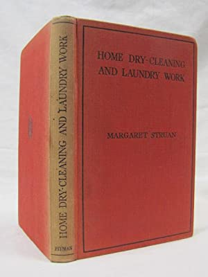 Home Dry Cleaning and Laundry Work: Struan, Margaret