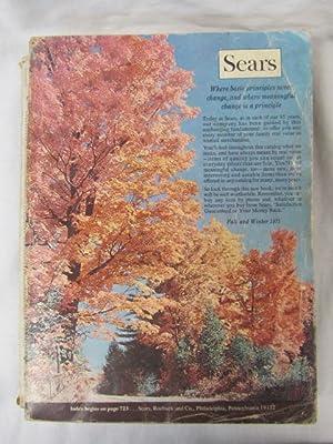 Sears Catalog, Fall & Winter 1971: Sears Roebuck