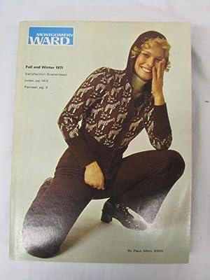 1971 Montgomery Ward Fall/Winter Catalog 1971: Montgomery Ward