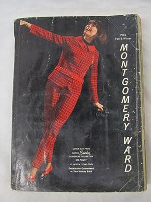 1965 Montgomery Ward Fall/Winter Catalog 1965 FAIR: Montgomery Ward