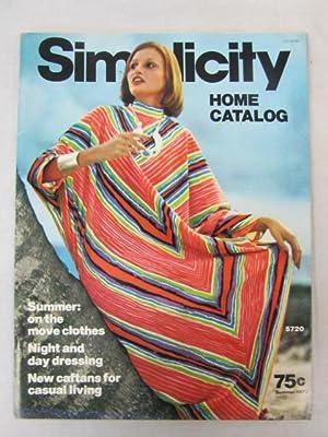 Simplicity Home Catalog Summer 1973: Simplicity