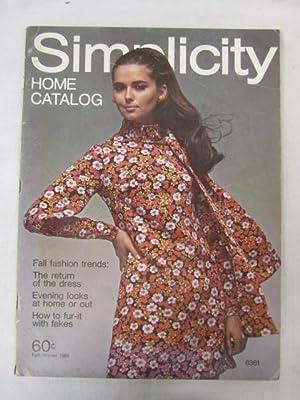 Simplicity Home Catalog Fall/Winter 1969: Simplicity