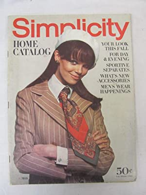 Simplicity Home Catalog Fall/Winter 1968: Simplicity