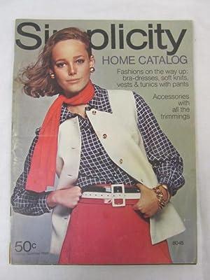 Simplicity Home Catalog Spring/Summer 1969: Simplicity