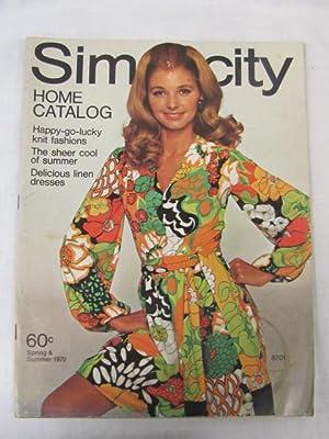 Simplicity Home Catalog Spring/Summer 1970: Simplicity