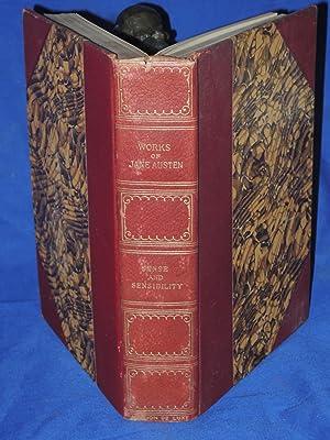Works of Jane Austen Sense and Sensibility (illustrated): Austen, Jane