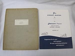 Technical Manual Lowrey Organo Model 0-7: Owner's Manual