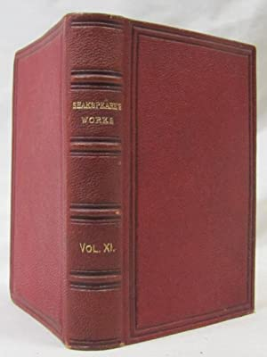 The Handy Volume Shakspeare Works Vol XI Hamlet, Prince of Denmark, Romeo and Juliet, Pericles, ...