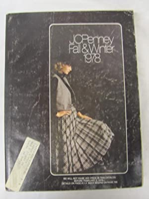 J C Penney Fall and Winter Catalog 1978: J C Penney