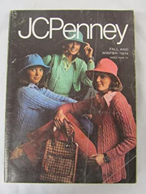 J C Penney Fall and Winter Catalog 1974: J C Penney