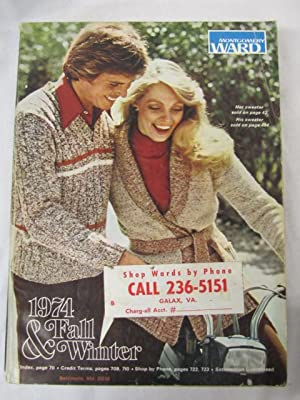 1974 Montgomery Ward Fall and Winter Catalog 1974: Montgomery Ward