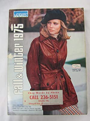 1975 Montgomery Ward Fall and Winter Catalog 1975: Montgomery Ward