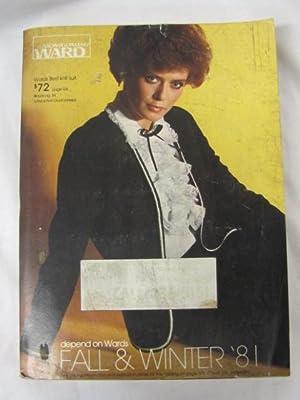 1981 Montgomery Ward Fall and Winter Catalog 1981: Montgomery Ward