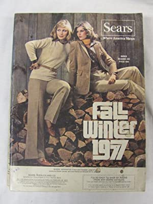 Sears Fall and Winter Annual Catalog 1977: Sears Roebuck