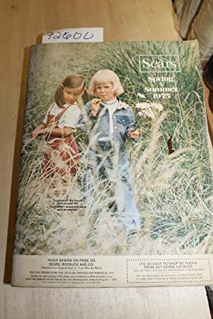 Sears Spring and Summer Annual Catalog 1975: Sears Roebuck