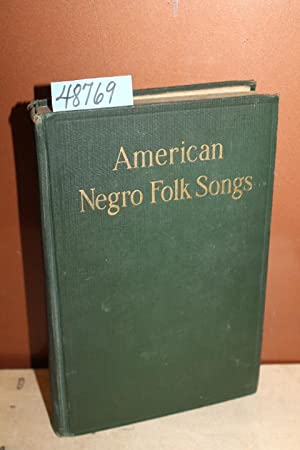 American Negro Folk Songs: White, Newman I.