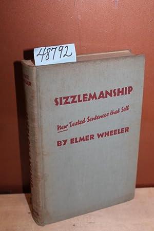 Sizzlemanship: New Tested Selling Sentences: Wheeler, Elmer