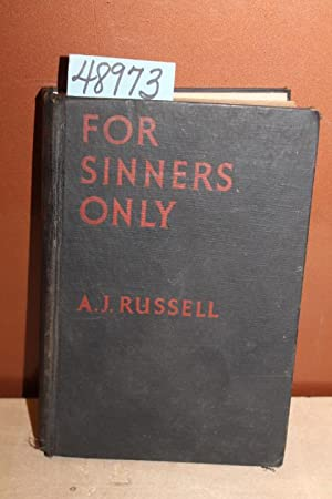 For Sinners Only: Russell, A. J.