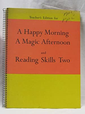 Teacher's Edition for A Happy Morning A: Early, Margaret, Cooper,