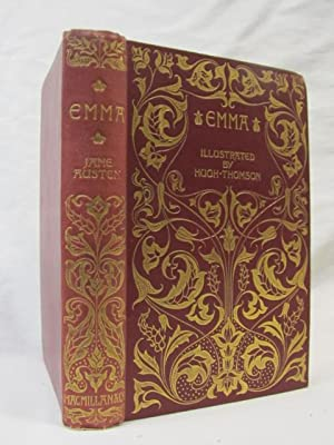 Emma, 1896 Red HB, First Edition, Macmillan: Austen, Jane