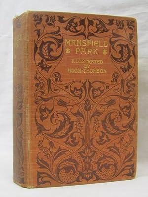 Mansfield Park, 1908, orange hard back: Austen, Jane