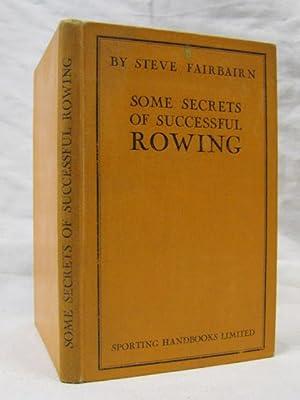Some Secrets Of Successful Rowing Vintage 1930's Sporting Handbook: Fairbairn, Steve