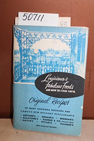 Louisiana's Fabulous Foods and How to Cook: Hardy, Lady Helen