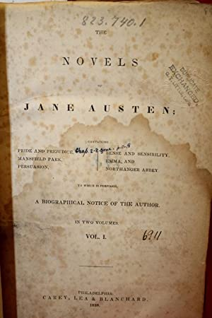 Novels Jane Austen 2 Volumes bound in: Austen, Jane
