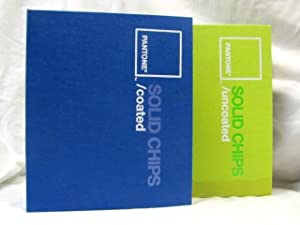 Pantone SOLID CHIPS Coated & Uncoated, Two Book Set: PANTONE INC