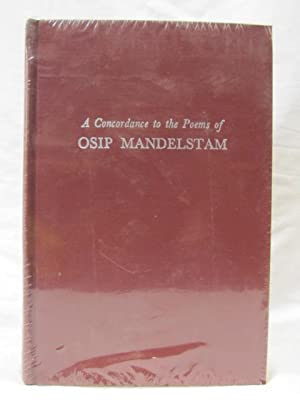 A Concordance to the Poems of Osip Mandelstam: Koubourlis, Demetrius