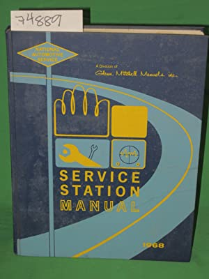 National Service Data Service Station Manual 1968: Sae, A.G. Lithgow
