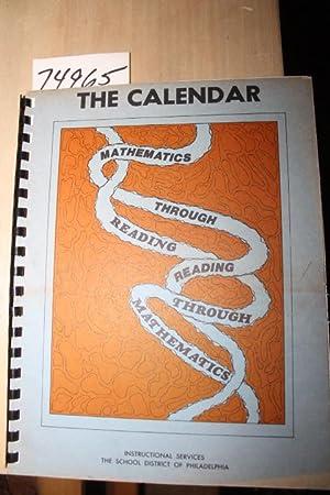Calendar, Mathematics through Reading, Reading through Mathematics: Shevlin, Dr. Alexander