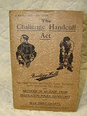Challenge Handcuff Act Presentation Advertising Plans Exhibition Tests Challenges Cell Escapes ...