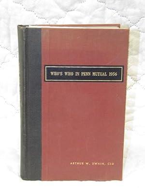 Who's Who in Penn Mutual 1956: Swain, Arthur W.