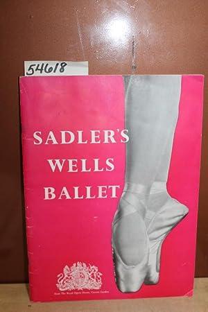 Sadler's Wells Ballet: Margot Fonteyn, Violetta Elvin, Rowena Jackson, Nadia Nerina, HUROK, S....