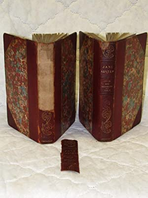 Sense and Sensibility Volume 1-2 leather: Austen, Jane &