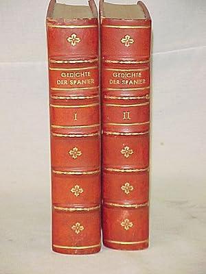 Gedichte Der Spanier Vol. I-II: Grossman, Rudolf