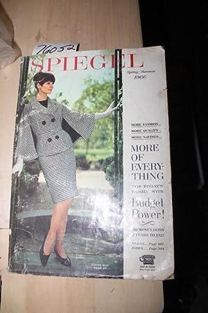 Spiegel Spring / Summer 1966 Catalog: Spiegel