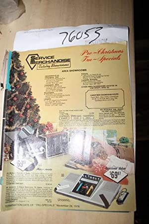 Service Merchandise Catalog Showrooms Pre - Christmas: Service Merchandise