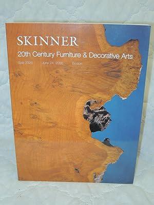 20th Century Furniture & Decorative Arts Sale 2325 10 Lots of Nakashima Furniture: Skinner