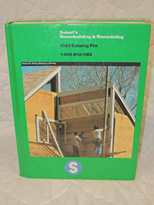 Homebuilding & Remodeling Volume B Doors, Windows, Glazing: Sweet's