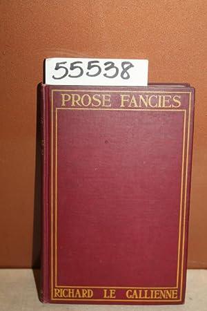 Prose Fancies: Gallienne, Richard le