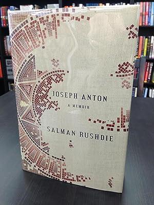Joseph Anton A Memoir: Rushdie, Salman