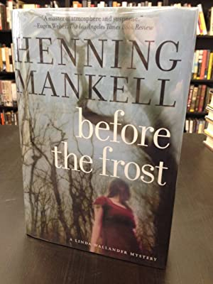 Before the Frost: Mankell, Henning