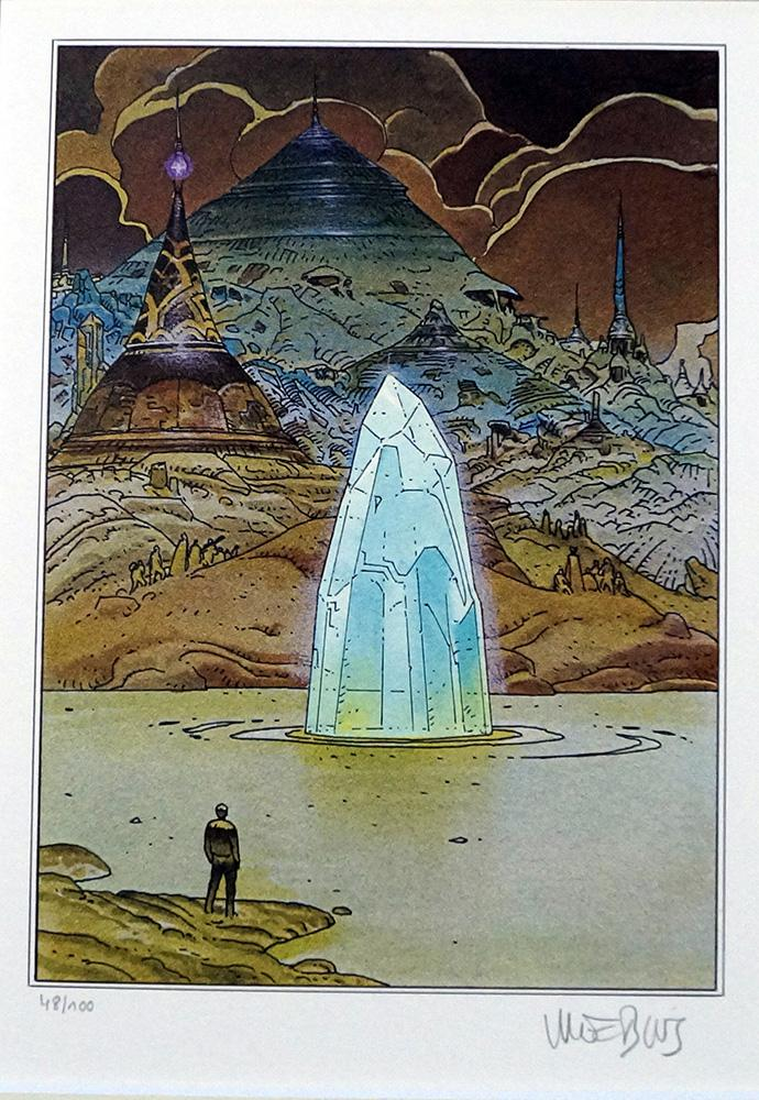 Venice - Limited Edition Print (Signed) Moebius (Jean Giraud)