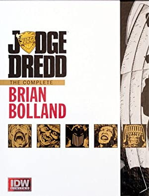 Judge Dredd: The Complete Brian Bolland Red Label Edition (Signed) (Limited Edition)