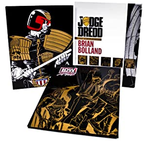 Judge Dredd: The Complete Brian Bolland Red Label Edition (Signed) (Limited Edition): John Wagner, ...